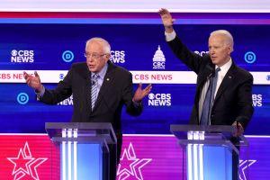 Joe Biden lidera encuestas y se aleja de Bernie Sanders