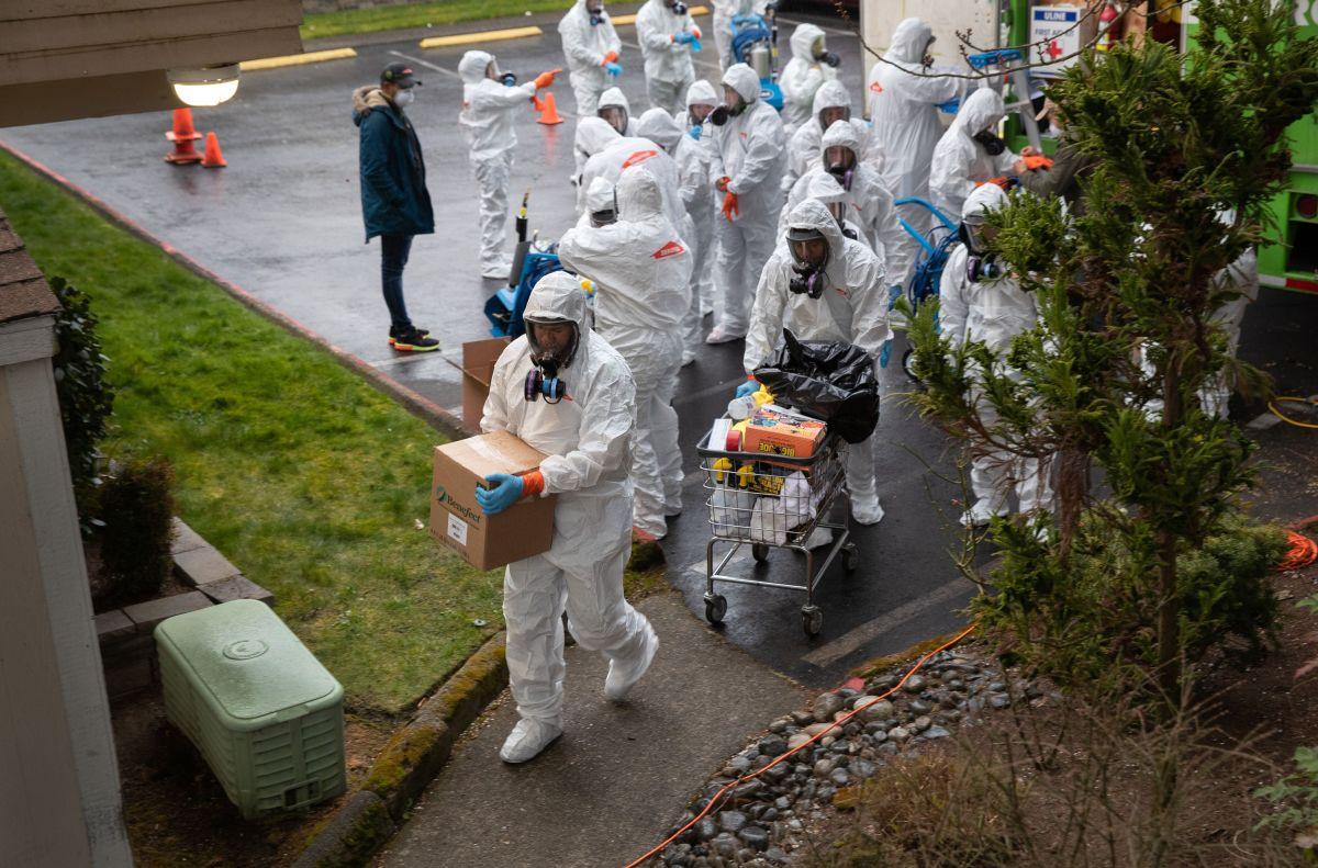 El hogar de ancianos de Nueva Jersey deberá desinfectar todo en el local.