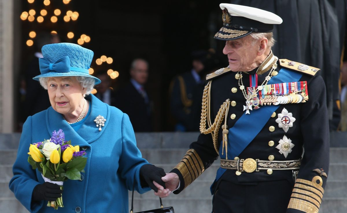 En cuarentena el esposo de la reina Isabel II, el príncipeFelipe de Edimburgo de 98 años de edad