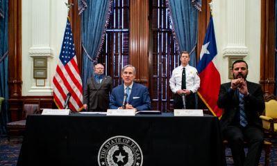 El gobernador de Texas anunció que todos los negocios pueden reabrir a un 50%; arranca la fase tres de la reapertura del estado