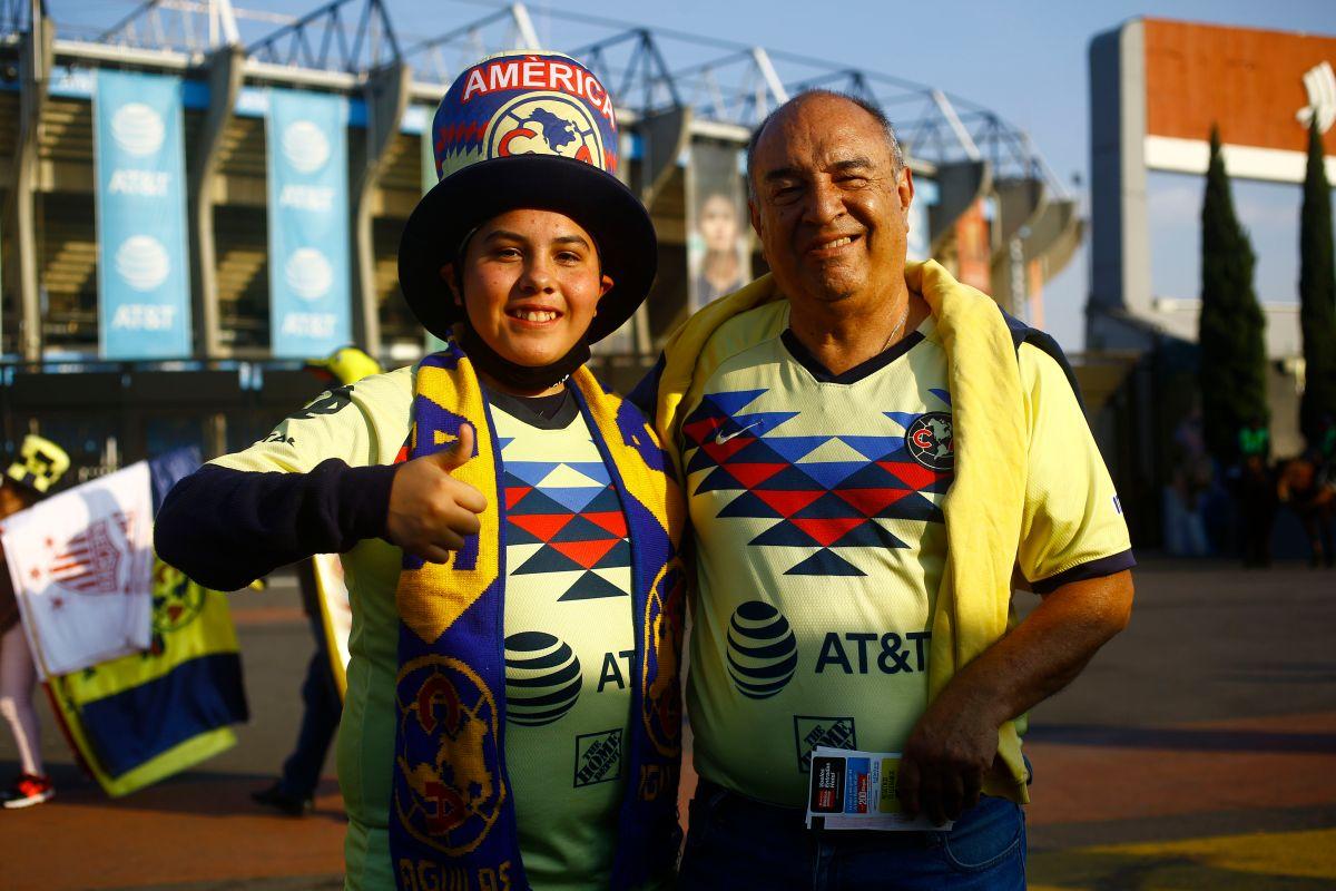 La afición del América es una de las más apasionadas de México.