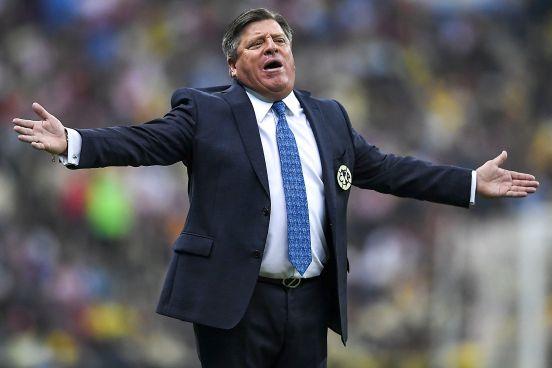 Miguel Herrera se sinceró ante la prensa.