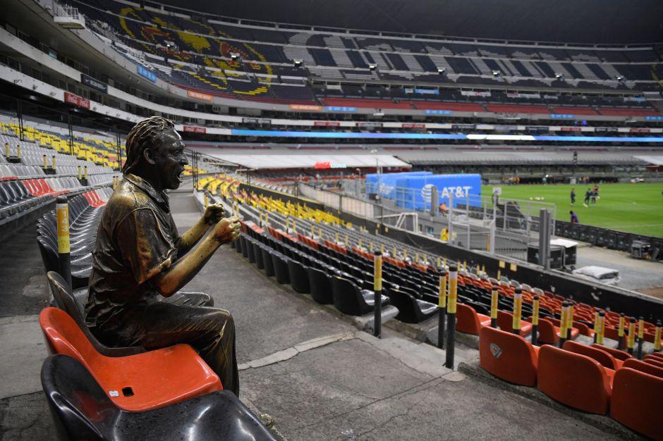 América, Pumas y Cruz Azul no abrirán sus estadios al público en lo que resta del año