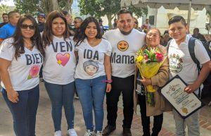 'Cuando me aprobaron la visa, sentí mucha alegría'