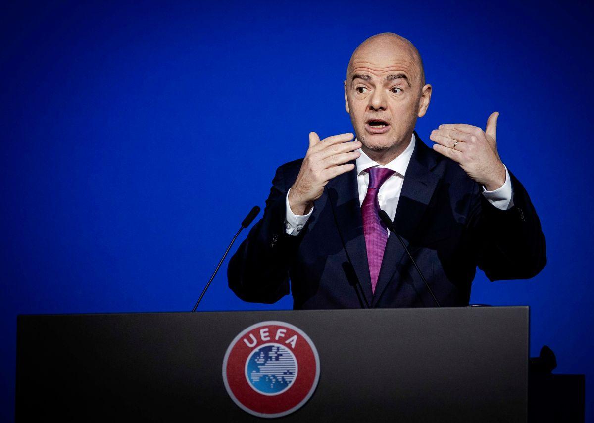 Infantino pidió tener cuidado al hablar de las sanciones por la Superliga
