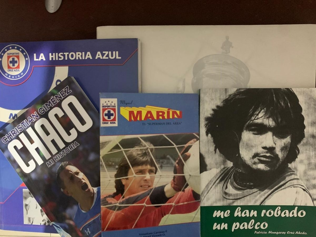 ¡No te aburras en tu casa! ¡Ocho libros para que no extrañes al superlíder de la Liga MX!