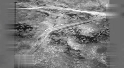 La vista del dron.