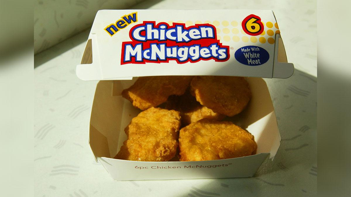 Cómo están hechos realmente los Nuggets de McDonald's
