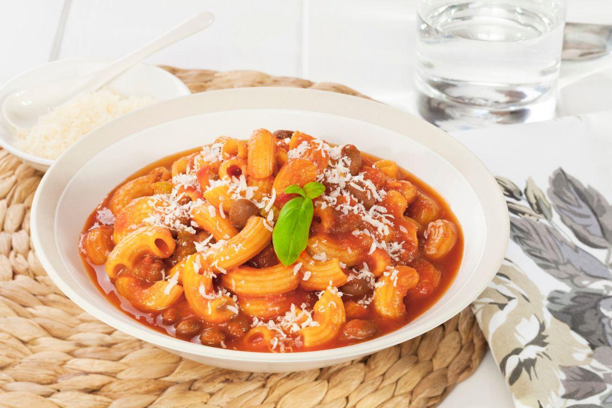 """Pasta e fagioli"", la sencilla pero valorada receta de pasta con frijoles"