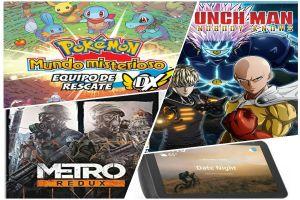 Reseña: Pokémon Mundo Misterioso, Metro Redux, One Punch Man: A Hero Nobody Knows y Echo Show 8