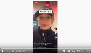 Se hace viral por subir a TikTok su renuncia a su trabajo en Wendy's