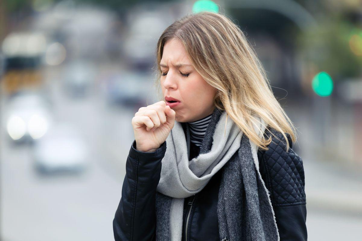 La saliva puede alcanzar distancias inesperadas.