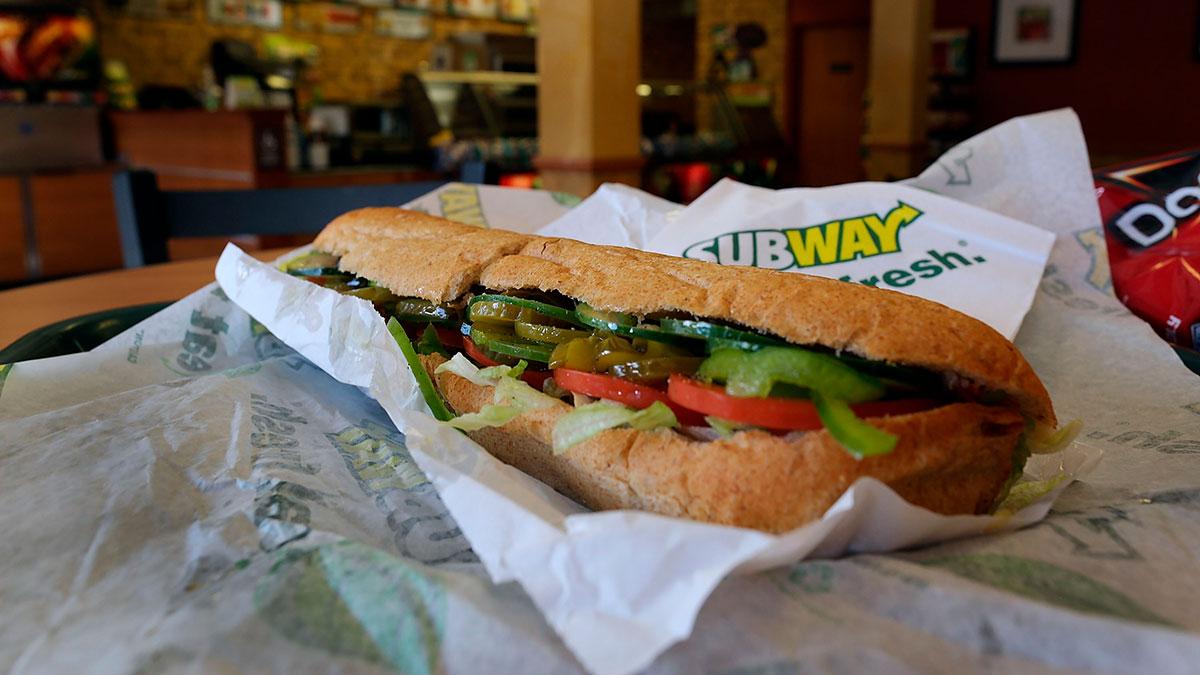 Subway te da un sándwich GRATIS
