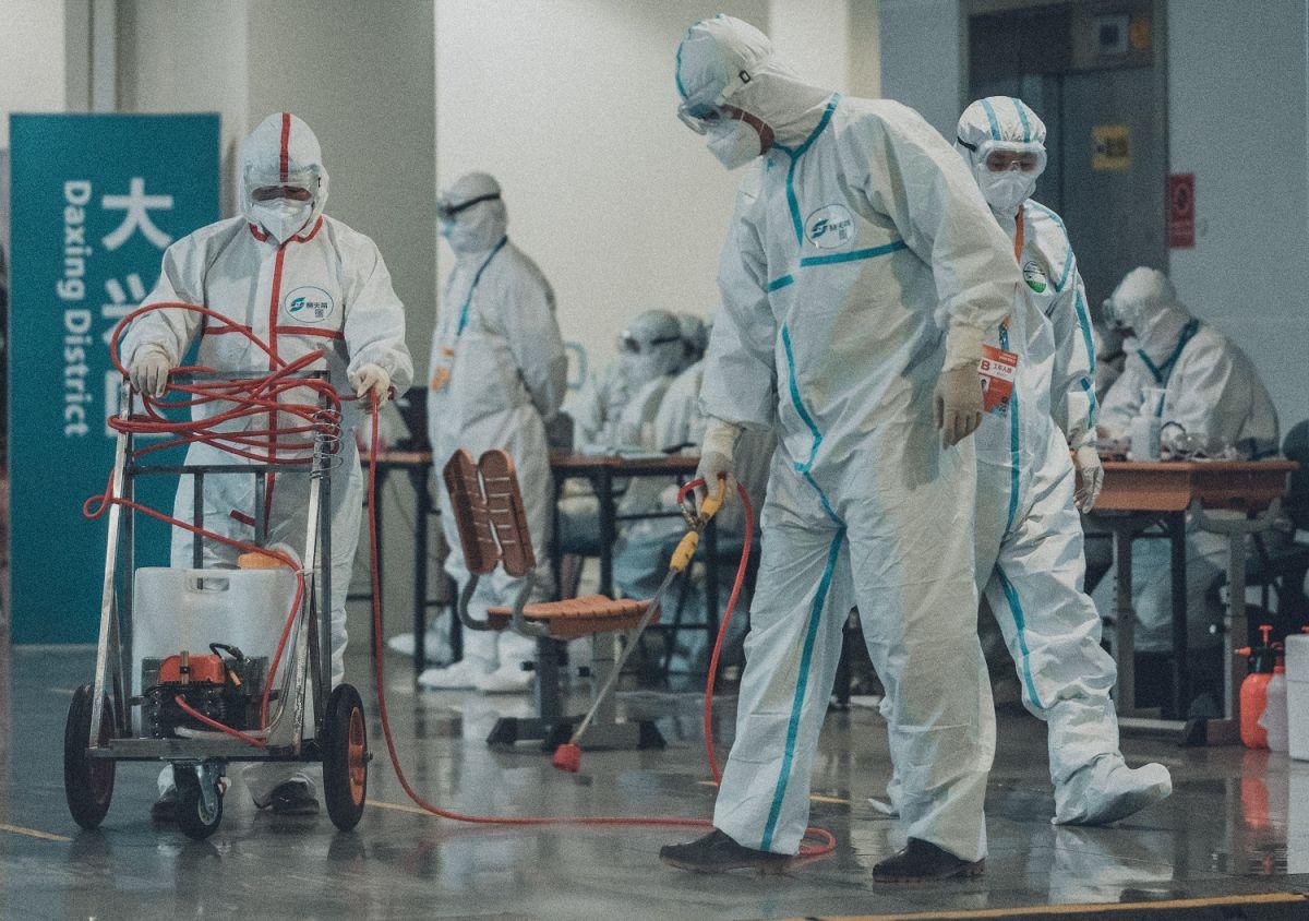 El coronavirus se extendió rápidamente por el mundo.