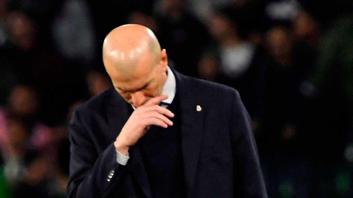 El Real Madrid lo anuncio oficialmente: Zinedine Zidane, positivo por COVID-19