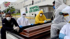 Ecuador confirma más de 6,700 muertes por COVID-19 en 15 días en la provincia de Guayas