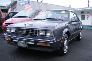 Cadillac Cimarron, uno de los peores autos de todos los tiempos
