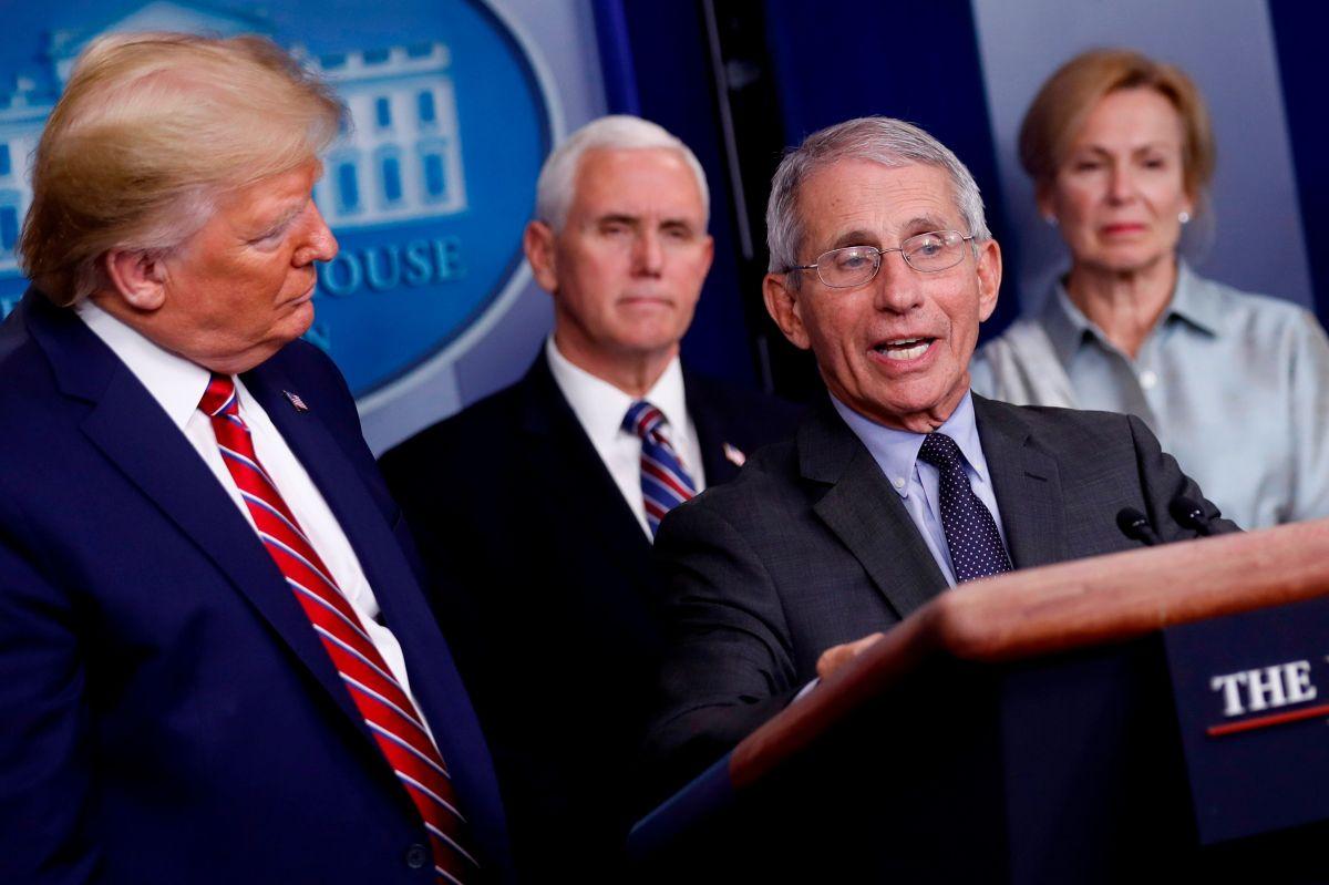 Tres miembros del grupo de trabajo para el coronavirus de Trump en cuarentena