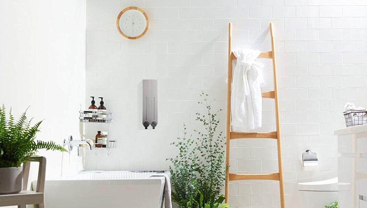 6 dispensadores de jabón que te conviene tener en el hogar
