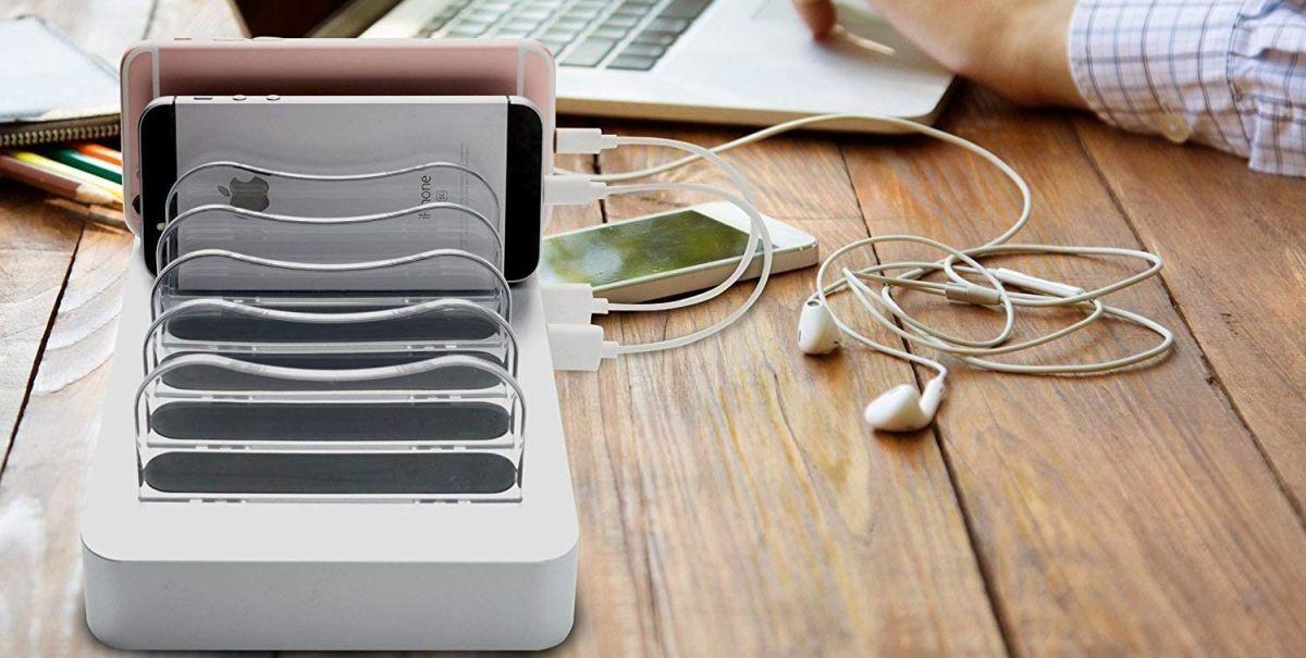 ¿Cuál es la mejor estación para mantener cargados todos tus dispositivos electrónicos?