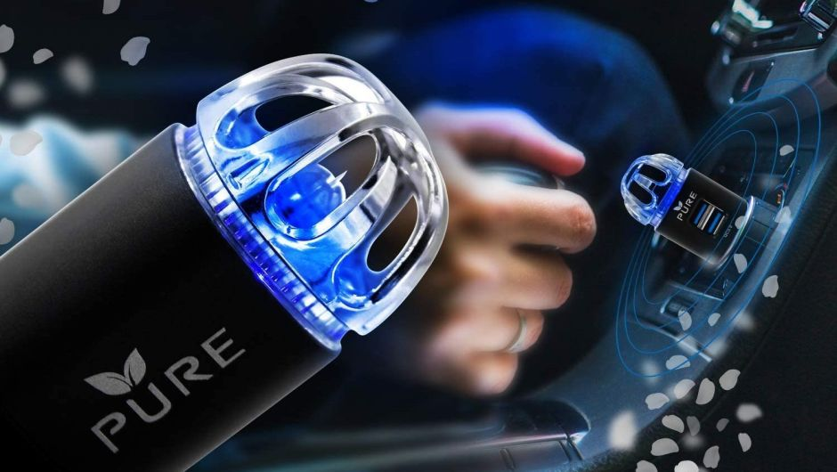 3 dispositivos para purificar el aire dentro de tu auto por menos de $30