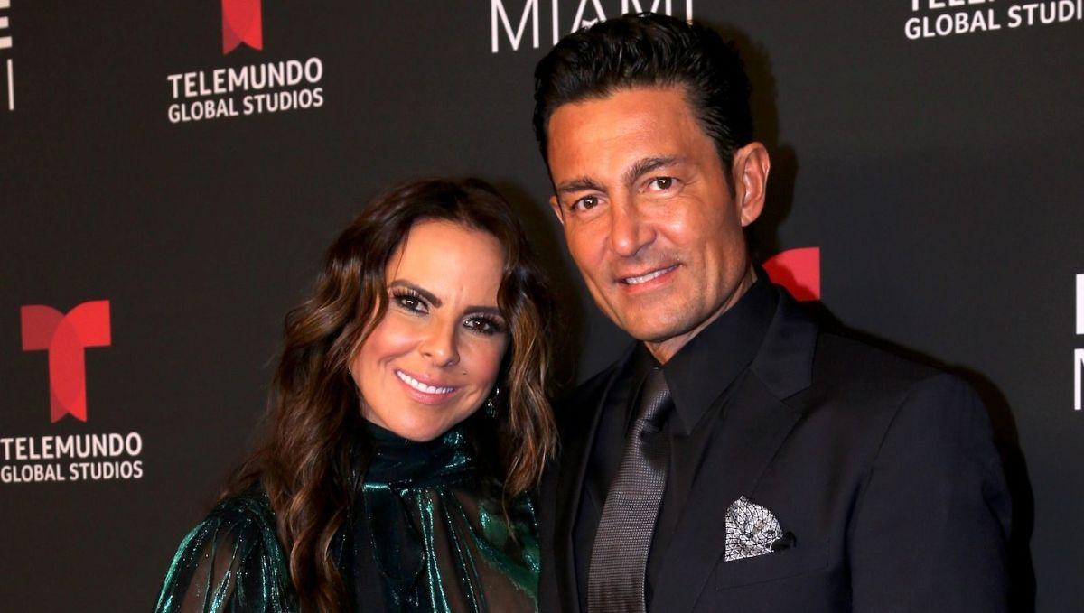 Fernando Colunga, junto a Kate del Castillo, dos de las grandes estrellas de Telemundo.