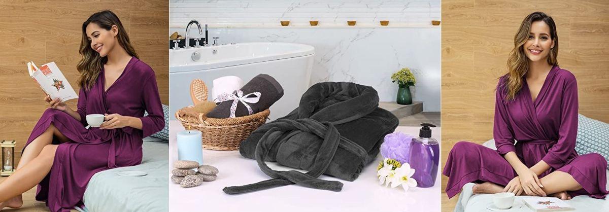 5 batas de baño para usar luego de ducharte y taparte ahora que toda la familia está en la casa siempre