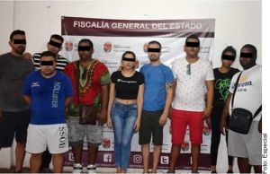 Detienen a cubanos que organizaban fiestas en México