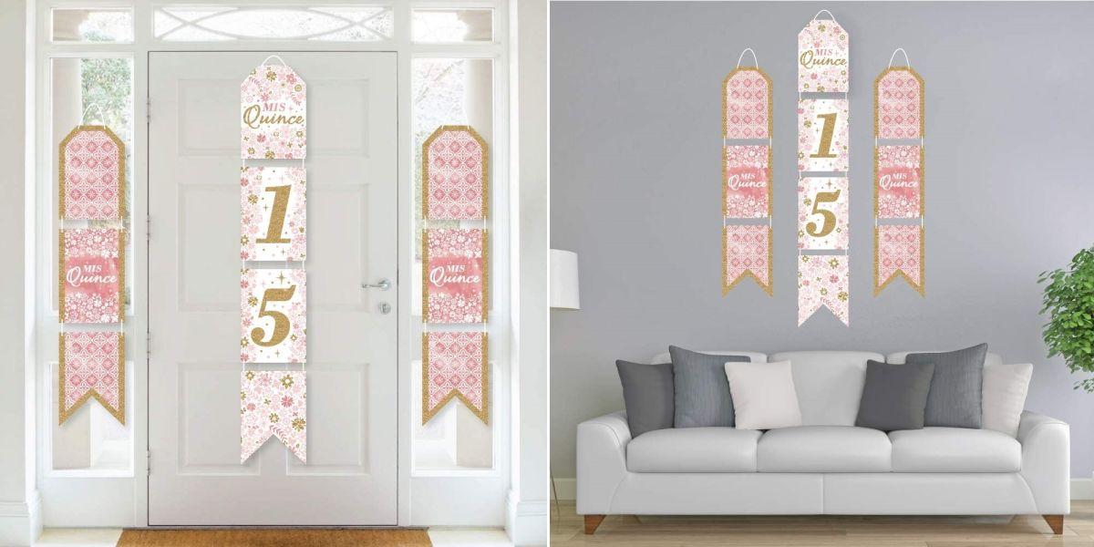 5 ideas de decoración de pared para celebrar tu quinceañero y mostrarlo por cámara a tus familiares y amistades