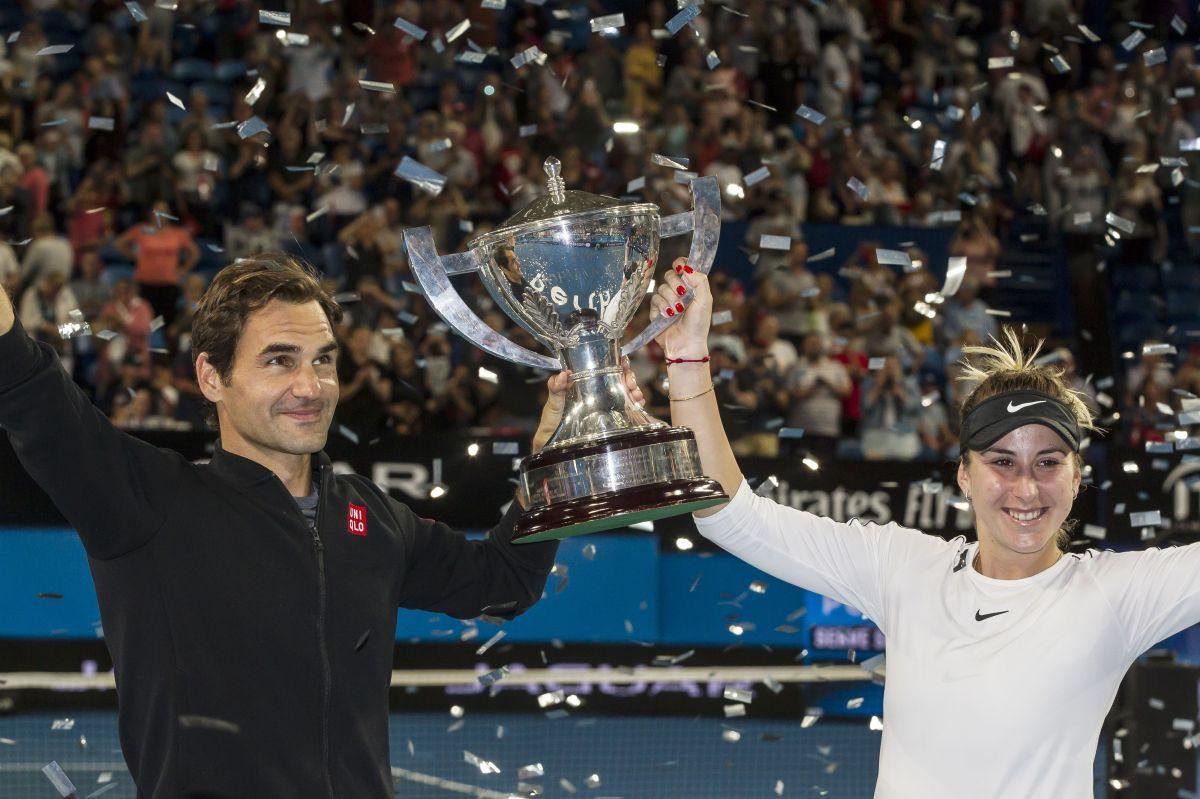 El planteamiento de Roger Federer tuvo buena respuesta.
