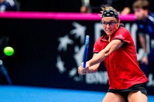 """""""Me trataron como una delincuente"""", la tenista Kirsten Flipkens es multada por romper cuarentena"""