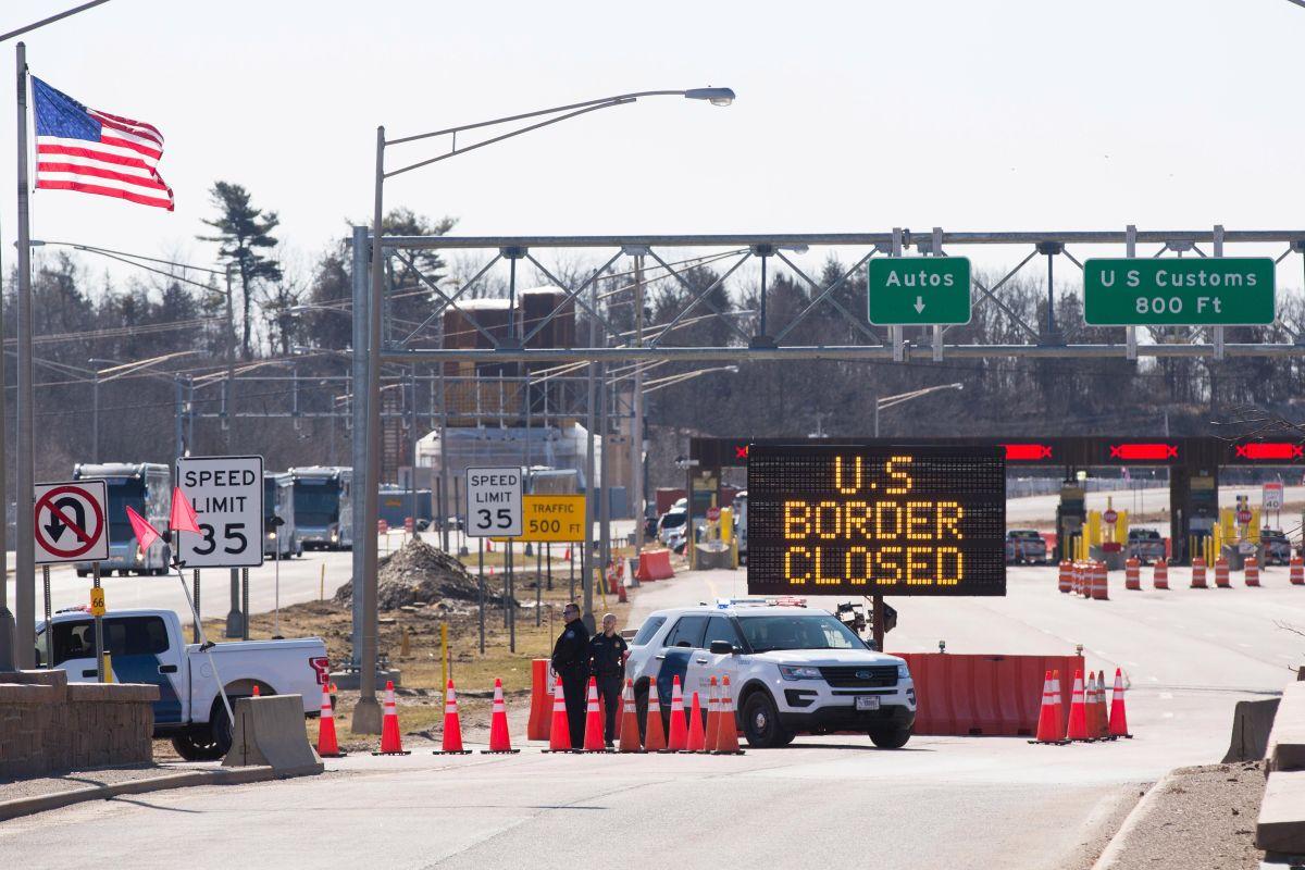 EEUU cerró las fronteras y redujo la admisión de inmigrantes.