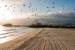 El Orange County permitirá que algunas playas permanezcan abiertas durante la cuarentena