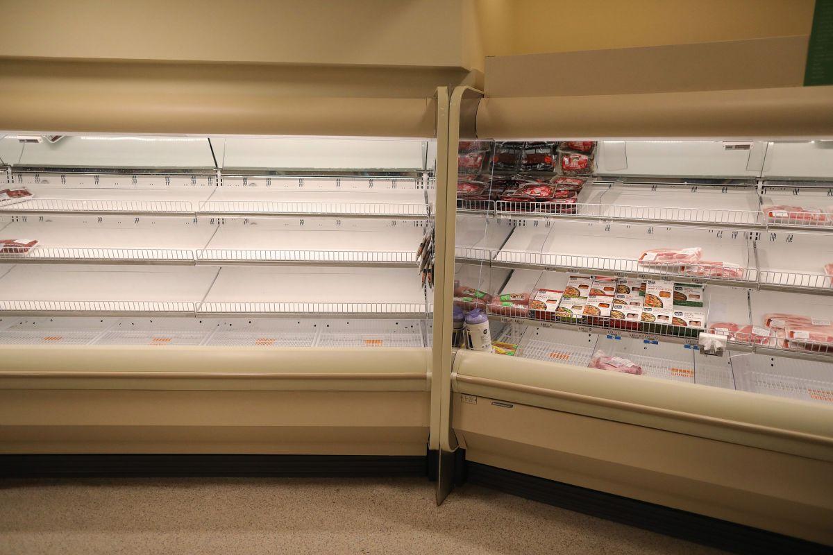 Coronavirus debilita la cadena de abastecimiento de comida en Estados Unidos