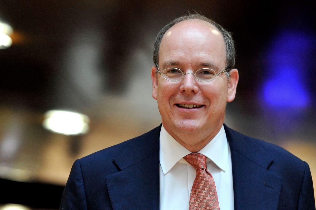 El príncipe Alberto II de Mónaco.
