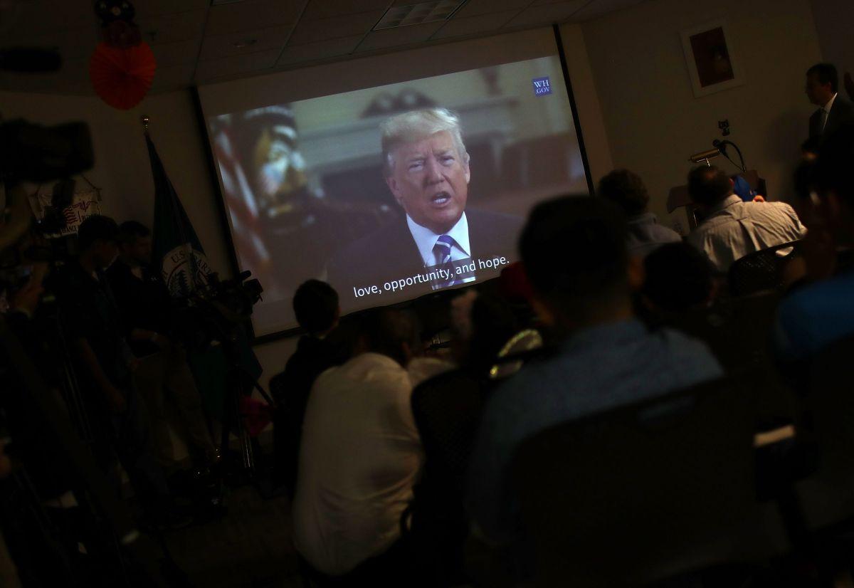 El presidente Trump ha modificado los procesos migratorios.