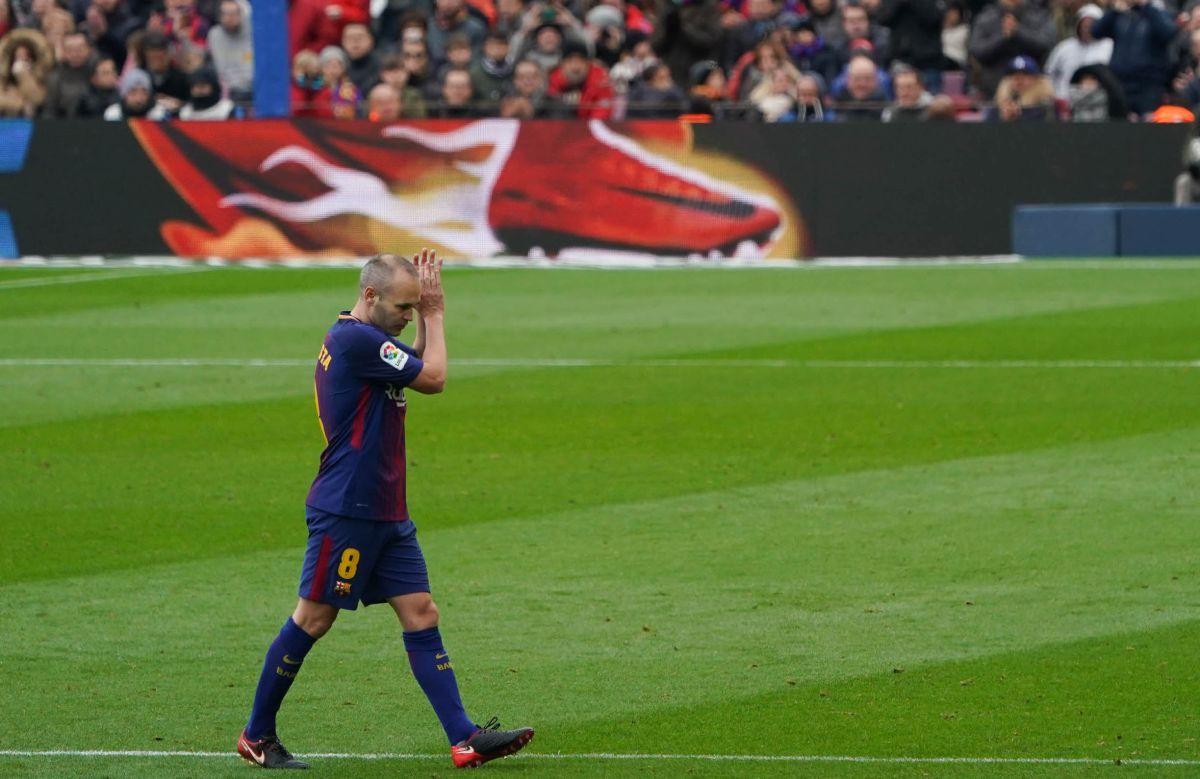 El mediocampista salió del Barça hace dos años.
