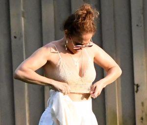 El incómodo momento en que Jennifer Lopez se desviste delante de la exesposa de Alex Rodríguez