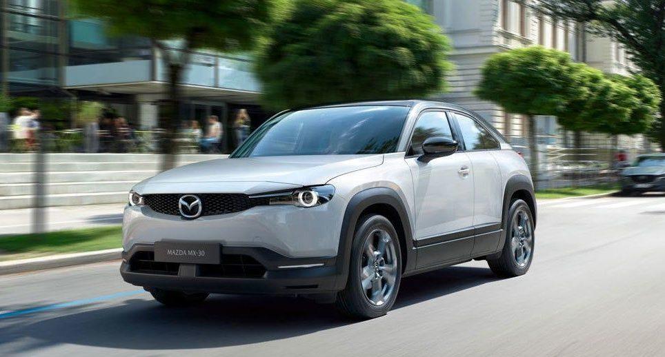 Mazda MX-30. Crédito: Cortesía Mazda.
