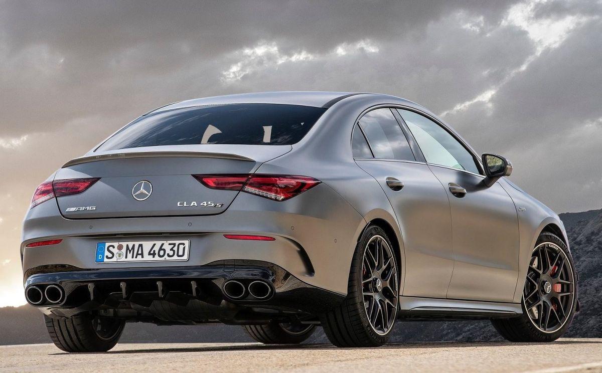 Mercedes-AMG CLA 45 S 4MATIC+. Crédito: Cortesía Mercedes-Benz.