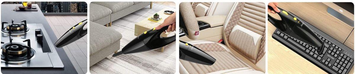 4 mini aspiradoras para limpiar el interior de tu auto por menos de $50