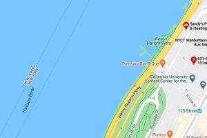 Rescatan cadáver masculino del río Hudson, en el Alto Manhattan