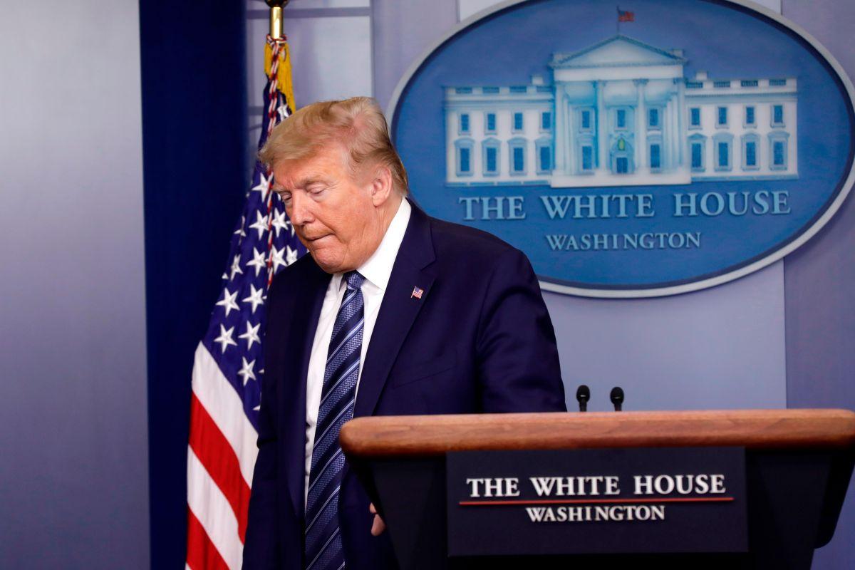 La publicación del presidente generó mucha incertidumbre.