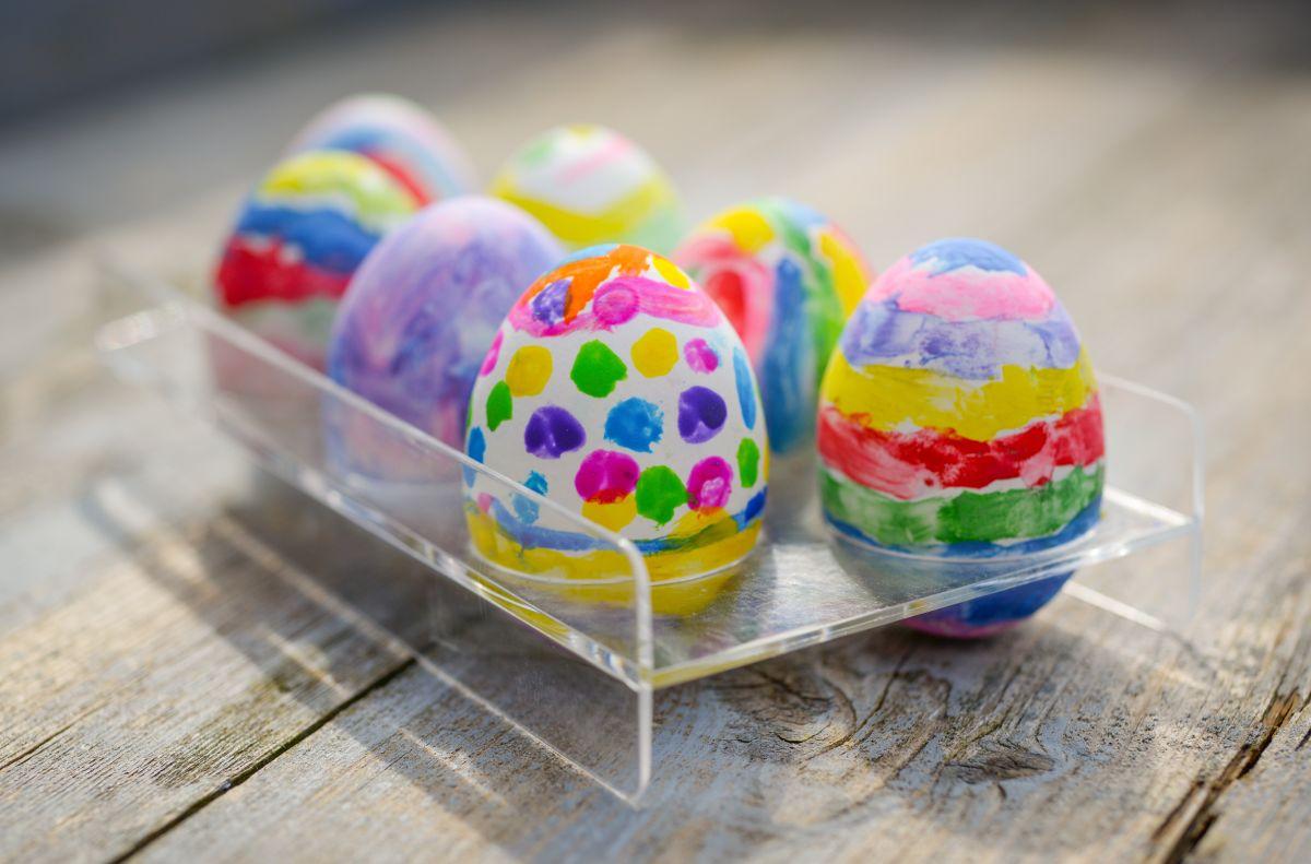 Usa los huevos de Pascua para una limpieza espiritual.