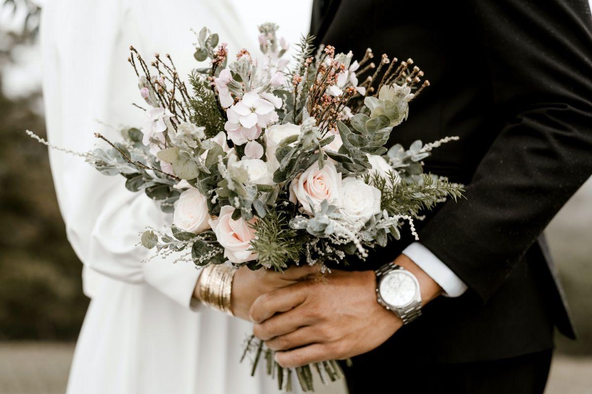 La novia soñaba con tener una boda al estilo Kardashian.