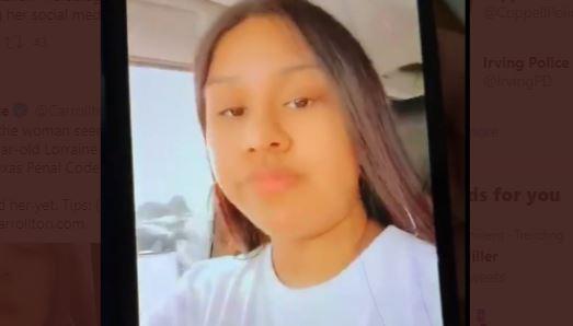 La mujer fue identificada como Lorraine Maradiaga.