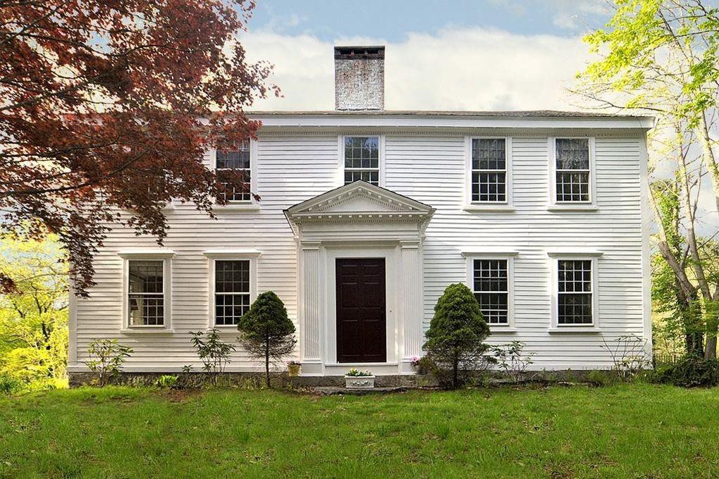Casa de 380 años de antigüedad en Hanover, Massachusetts.