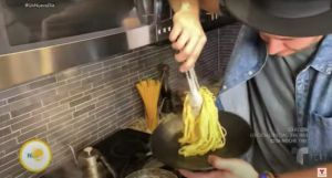 Recetas de cuarentena: Exquisita Pasta carbonara del Chef James