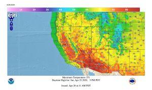 Pronostican temperaturas mayores a 90 °F en Los Ángeles para el fin de semana