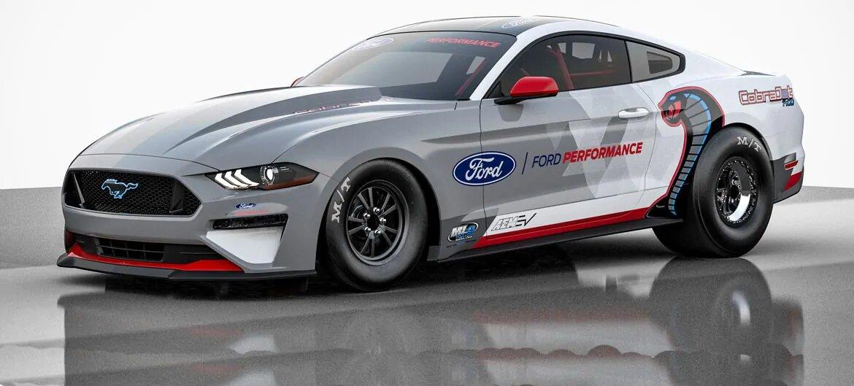 Mustang Cobra Jet 1400. Crédito: Cortesía Ford.